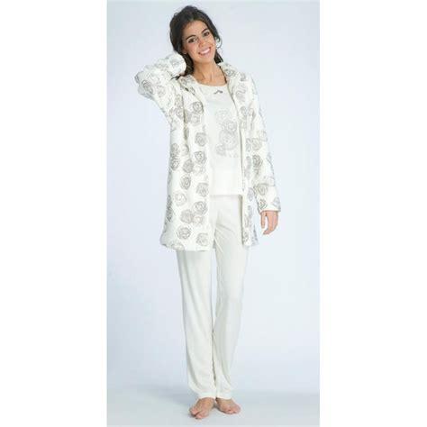 robe de chambre c et a femme pyjama de nuit ensemble pyjama et robe de