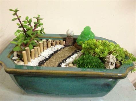 Zen Garten Miniatur by Zen Garden Jade Buddha Terrariums Mini Zen