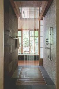 6 deco salles de bain de reve avec une douche italienne With porte de douche coulissante avec tapis de sol salle de bain antidérapant
