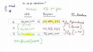 Rente Abzüge Berechnen : barwert und zukunftswert youtube ~ Themetempest.com Abrechnung