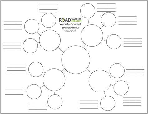 brainstorming worksheet worksheets for all and