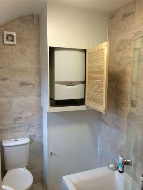 built  boiler cupboard  storage unit built