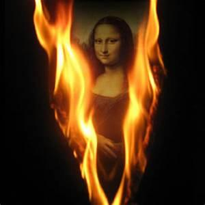 Letter V Fire Photo Effect Generator