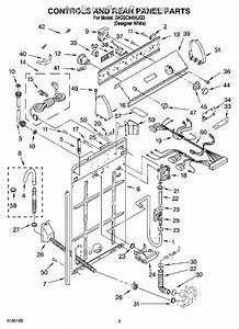 34 Whirlpool Cabrio Dryer Parts Diagram