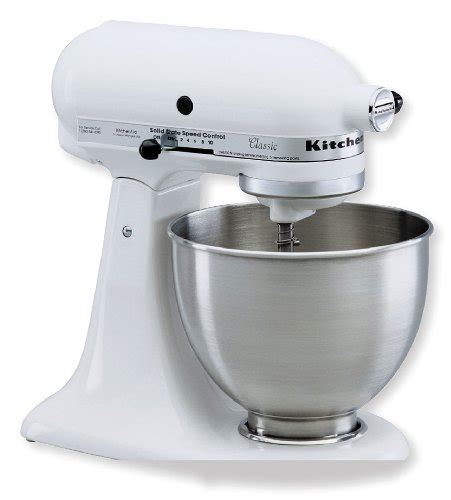 Kitchenaid Ksm75wh Classic Plus Stand Mixer, White