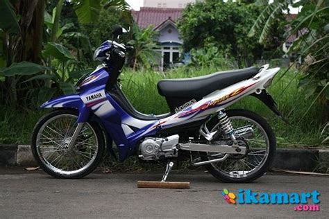 Modifikasi Jupiter Z 2005 by Modifikasi Jupiter Z 2005 Biru Modifikasi Motor Terbaru