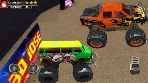 monster truck video games for kids monster truck racing games monster truck stunts game