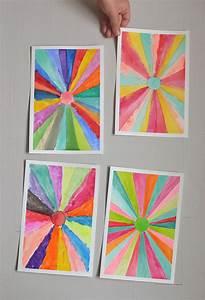 Diy, Sunburst, Paintings, U2013, Back