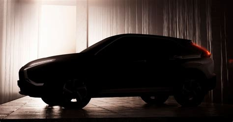 mitsubishi eclipse cross facelift teased    debut    models   aeb