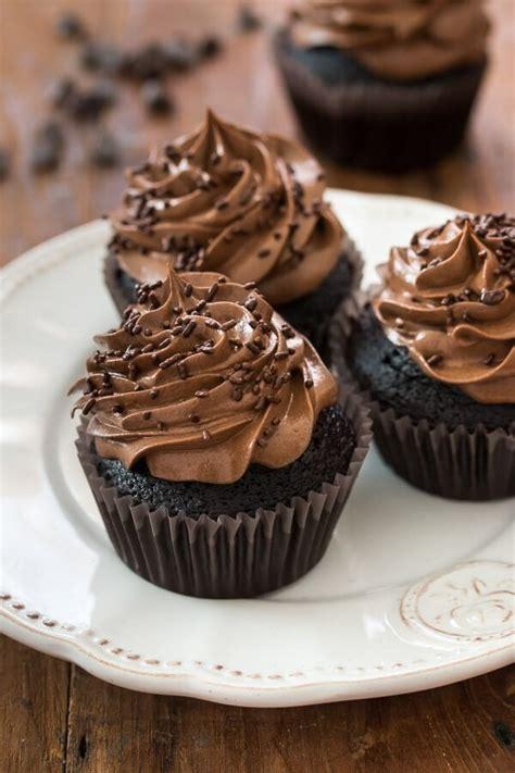 milk chocolate cupcakes  sweet basil