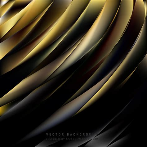 Abstract Black And Gold Background by Abstract Black Gold Background Vector