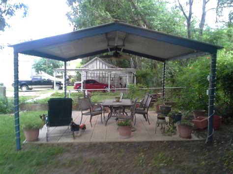 Free Standing Carports And Patio Cover Kits by Mcqueeny Free Standing Metal Pavillion Carport