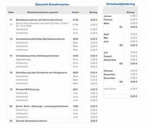 Einnahmen überschuss Rechnung : numbers vorlage einnahmen berschuss rechnung 2016 ~ Themetempest.com Abrechnung
