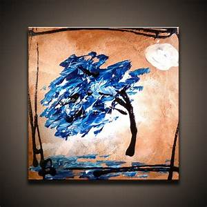 Simple Way to Create Modern Landscape Abstract Painting ...