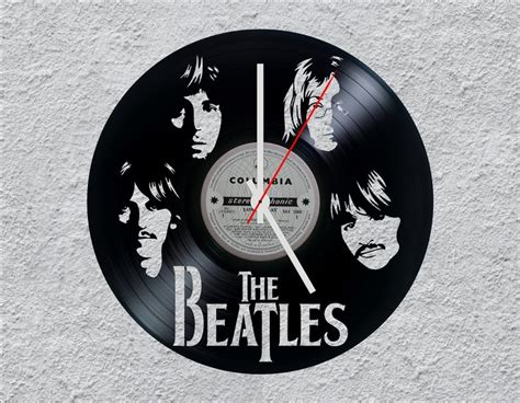 The Beatles Lp Vinyl Clock By Uber Cool Design Pinterest Home Decor Bathroom Christmas Ideas Fully Decorated Homes Beautiful Decorations For Your Marshalls Online Store Edmonton Different Types Of Styles Distributors