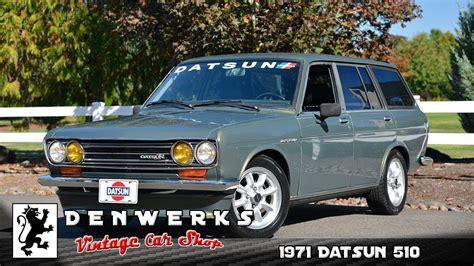 Datsun 510 Wagon by 1971 Datsun 510 Wagon