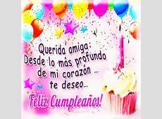 Feliz cumpleaños amiga imágenes Frases de Cumpleaños