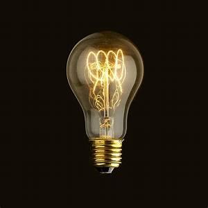Lâmpada Decorativa Edison Bulbo A19 - 110v Filamento