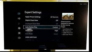 Calibration settings samsung ku6075 - a true calibration
