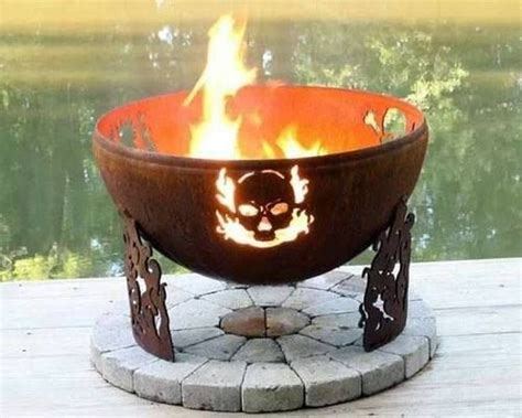 17 Best Welded Fire Pits Images On Pinterest The Farm Kitchen Habersham Cabinets Black Tables Traditional Backsplash Pedini Kitchens Bamboo Fleur De Lis Design Island