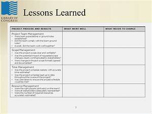 project lessons learnt templatelessons learned checklist With project management lessons learnt template