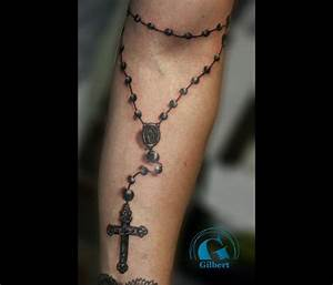 Tatouage Homme Croix : tatouage avant bras chapelet mod les et exemples ~ Melissatoandfro.com Idées de Décoration