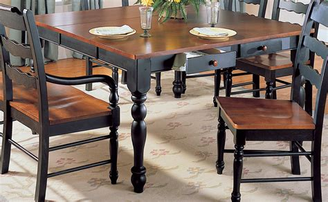31659 two tone dining table adorable furniture design ideas adorable woodbridge home designs
