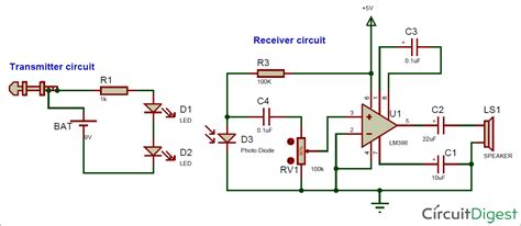 Based Wireless Audio Transmitter Receiver Circuit