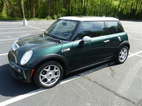 purchase   mini cooper  sunroof coupe  speed
