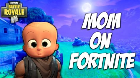 teaching  mom   play fortnite mothers day special