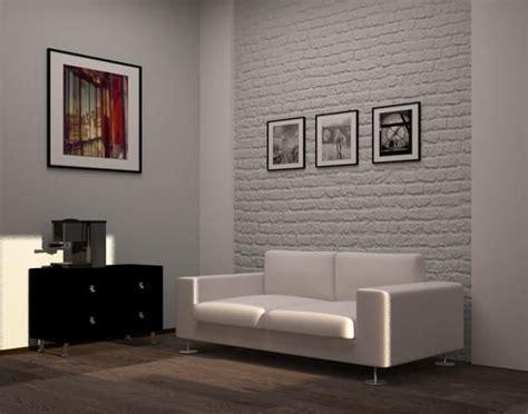 living room designs  brick walls