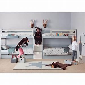 Lit Enfant 4 Ans : chambre d 39 enfants 4 6 lits sign e asoral ~ Teatrodelosmanantiales.com Idées de Décoration