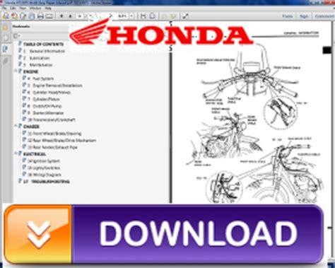 honda crfr repair service manual
