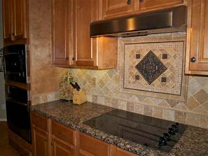 Travertine backsplash house yard pinterest for Travertine backsplash