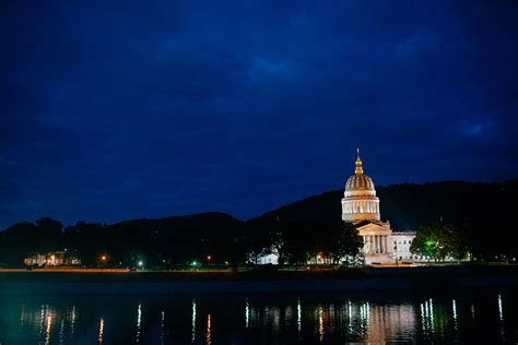 033-kanawha-river-dusk-charleston-wv-capitol • The Oberports