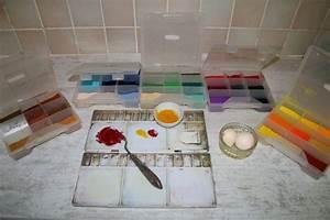 melange du pigment et du jaune d oeuf catherine legrand With peinture a la detrempe