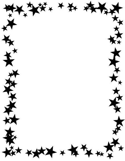 free printable border black and white high