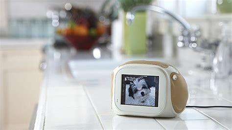 cadre photo cuisine chumby l écran tactile qui tombe à l eau