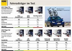 Fahrradträger Anhängerkupplung Test 2017 : tr gersysteme f r die anh ngerkupplung grafik adac 1 ~ Kayakingforconservation.com Haus und Dekorationen