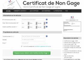 Certification De Non Gage : gage michaels websites and posts on gage michaels ~ Maxctalentgroup.com Avis de Voitures
