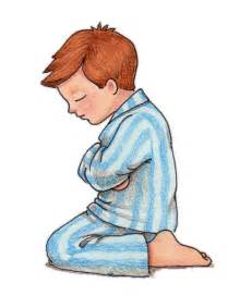 Little Boy Praying Clip Art