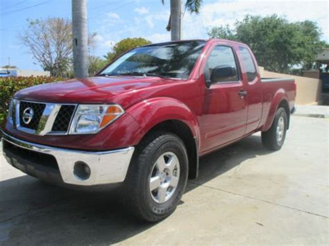 Sell Used 2007 Clean Title 4x4 Nissan Frontier King Cab 6