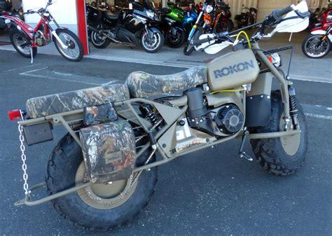 2014 Rokon Trail-breaker Motorcycle Moto-tractor 2 Wheel Drive Off Road Unique