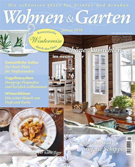Garten Deko Zeitschrift by Zeitschrift Wohnen Und Garten