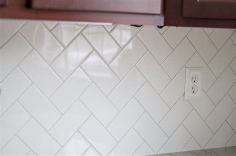 White Kitchen Granite Ideas - subway tile herringbone pattern amazing tile