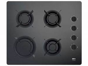 Plaque De Verre Pour Table : table de cuisson gaz far tgvs60n 1 far vente de plaque ~ Dailycaller-alerts.com Idées de Décoration