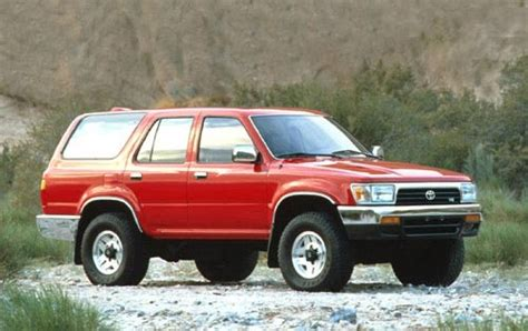 Used 1995 Toyota 4runner Suv Pricing  For Sale Edmunds
