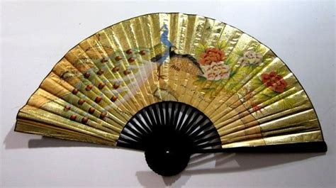how to hang paper fans on wall 40 39 39 chinese oriental handpainted folding paper wall