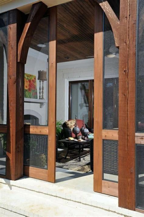 screen porch sliding screened barn doors door drama