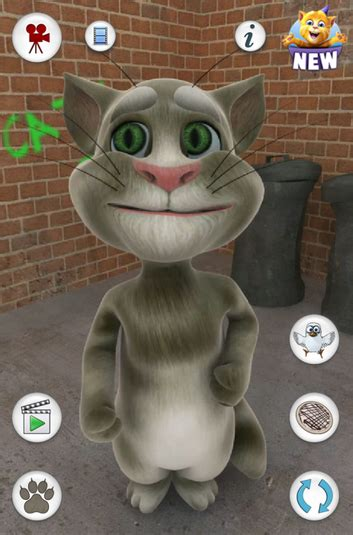 talking tom cat android  uptoapp